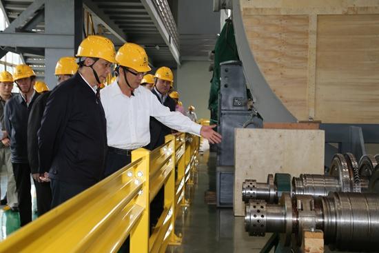 全国人大赴上海电气开展安全生产执法检查